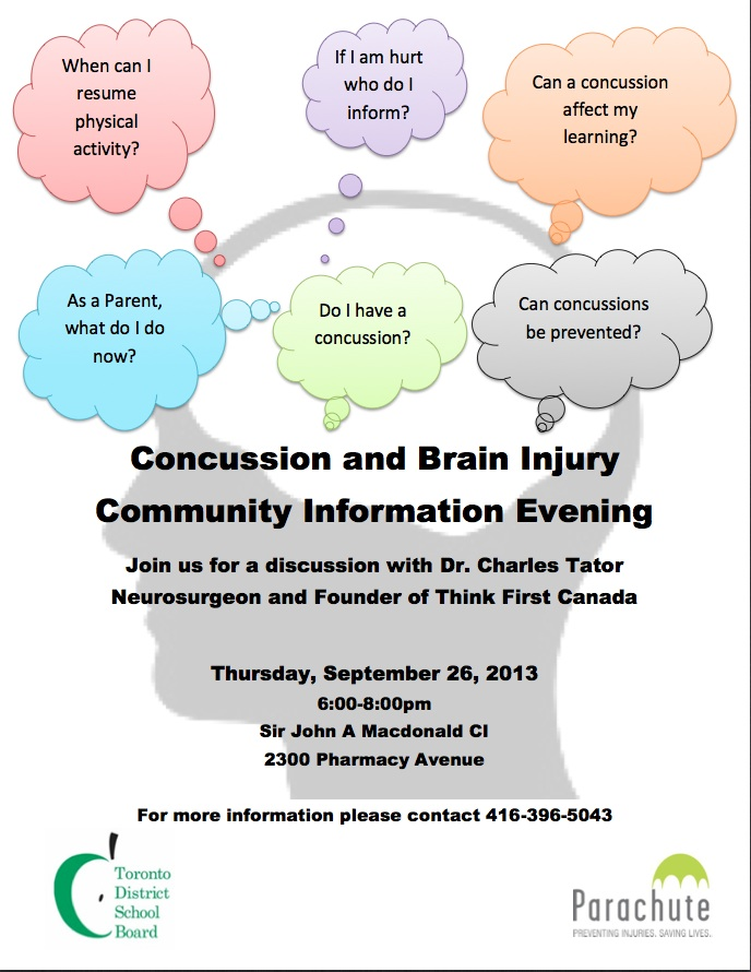 Presentation on Latest Research on Concussions