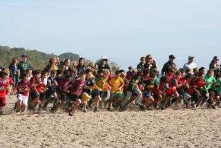 An Amazing Cross Country Meet at Ashbridge's Bay Yesterday!