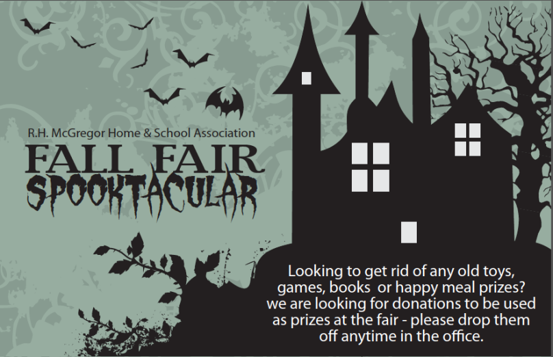 Volunteers Needed for Spooktacular Fall Fair, Saturday October 26th