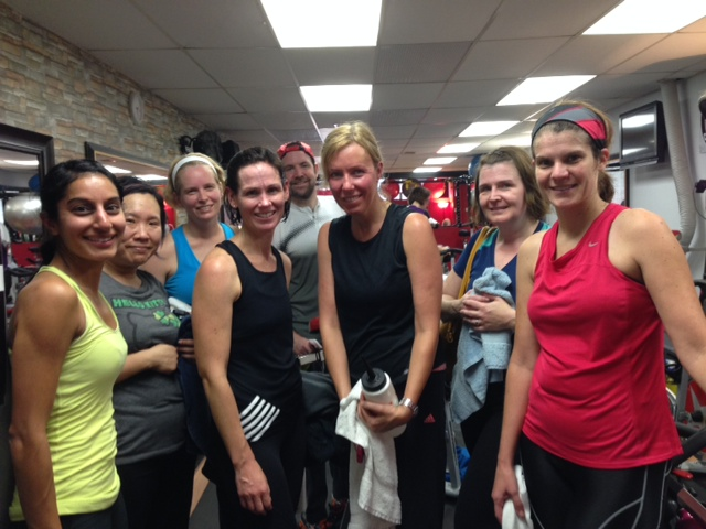 Spin Class Fundraiser at Legacy Indoor Cycling:  A Great Success!