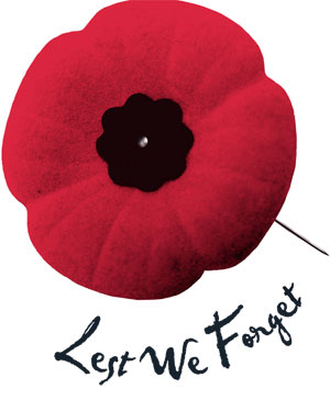 Remembrance Day Assembly: RHM Gym 9am Monday Nov. 11th