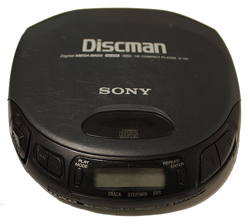 Do you have an old Discman to spare? Please donate to Mme. Colacci's class