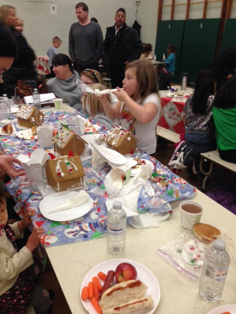 Festive Family Fun tonight at our Gingerbread 2013 Fundraiser for the Daily Bread Food Bank!
