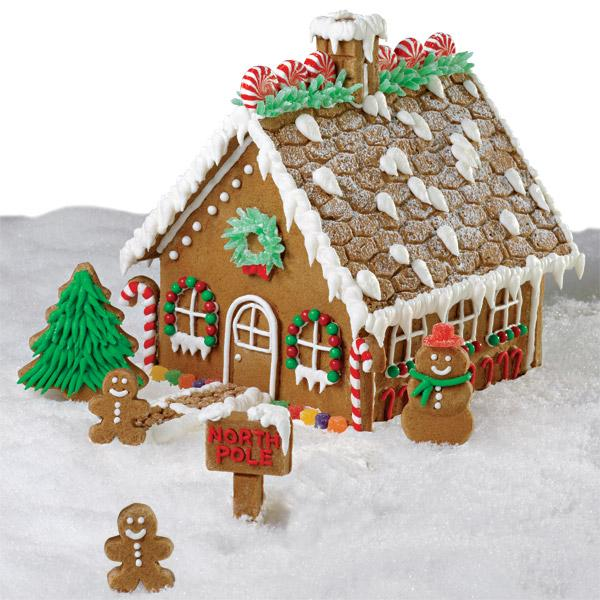 Make a Gingerbread House & Support the Daily Bread Food Bank!