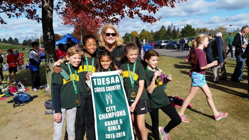 Grade 5 Girls City Champs
