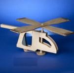 wooden helicopter workshop